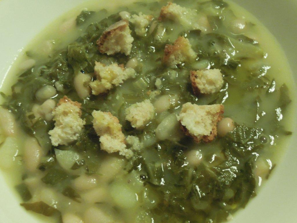 Sopa de Couve e Feijão, uma Sopa da Minha Infância