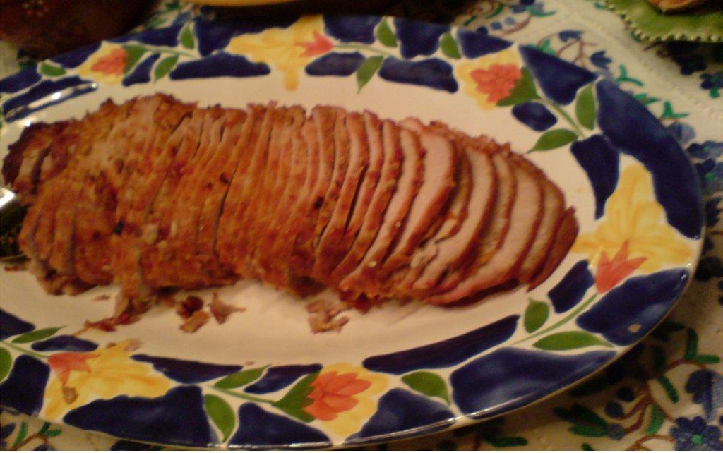 Lombo de Porco Assado com Pimentão lombo de porco assado com pimentão - Lombo de Porco Assado com Pimentão