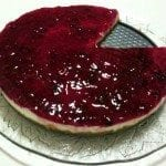 Cheesecake light com aveia, invenção da Sara