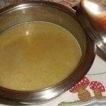 Sopa de Feijão verde e abóbora da Graça Medeiros