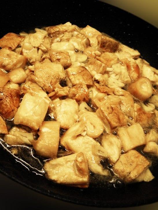 cogumelos na frigideira - Cogumelos na frigideira, petisco delicioso para experimentar