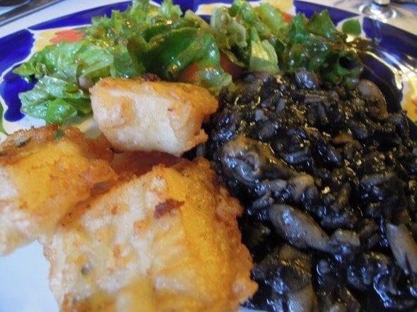 arroz negro Arroz negro a saber a choco para acompanhar o bicho DSCN4238 1 590x44211