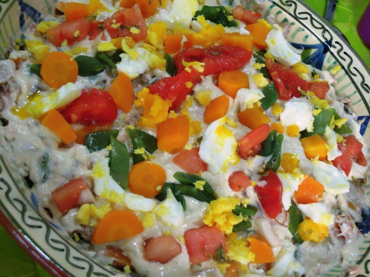 salada russa com atum Salada russa com atum, faz bem à linha (4 pessoas) DSCN2626