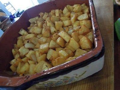 Batatas Assadas no Forno, Acompanhamento Simples e Delicioso