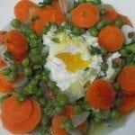 Ervilhas com ovos light, as dietas à minha maneira