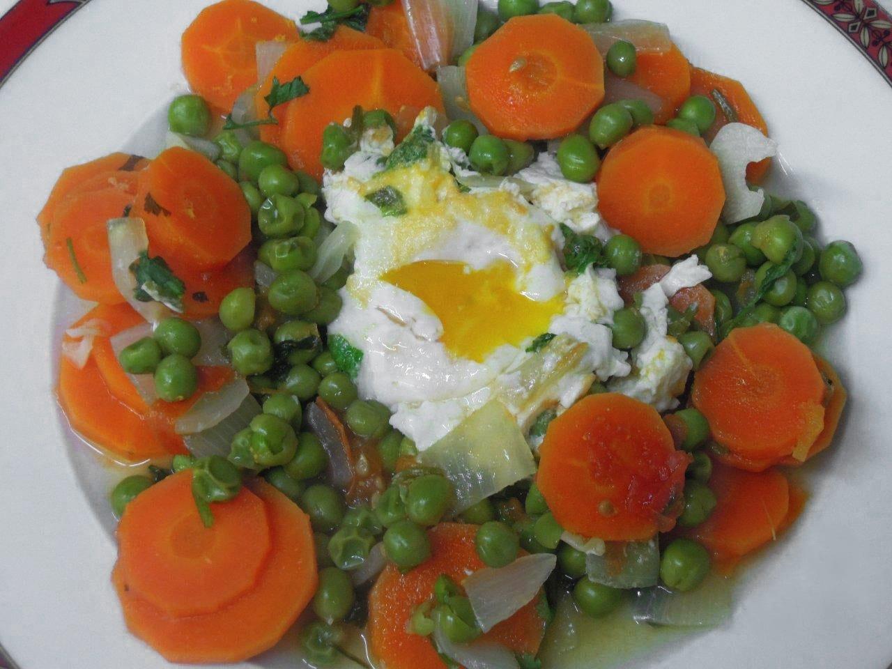 ervilhas com ovos light, as dietas à minha maneira - Ervilhas com ovos light, as dietas à minha maneira