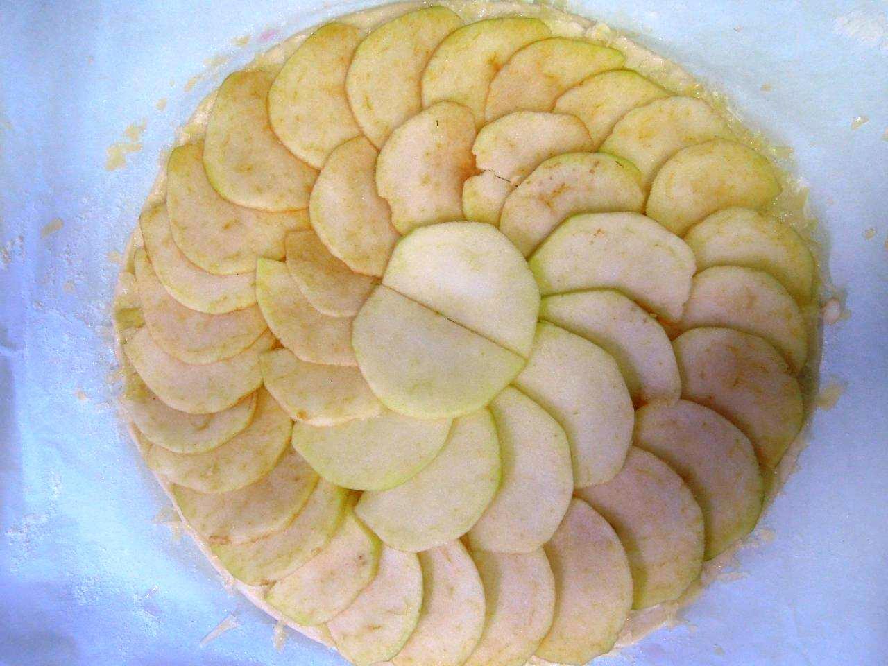 DSCN2646  - Pizza de maçã