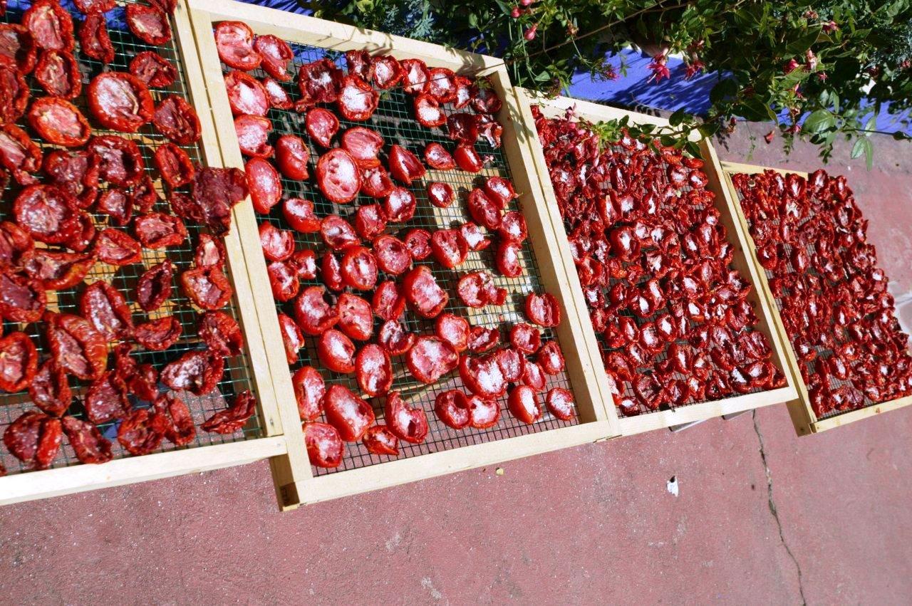 Os meus tomates secos