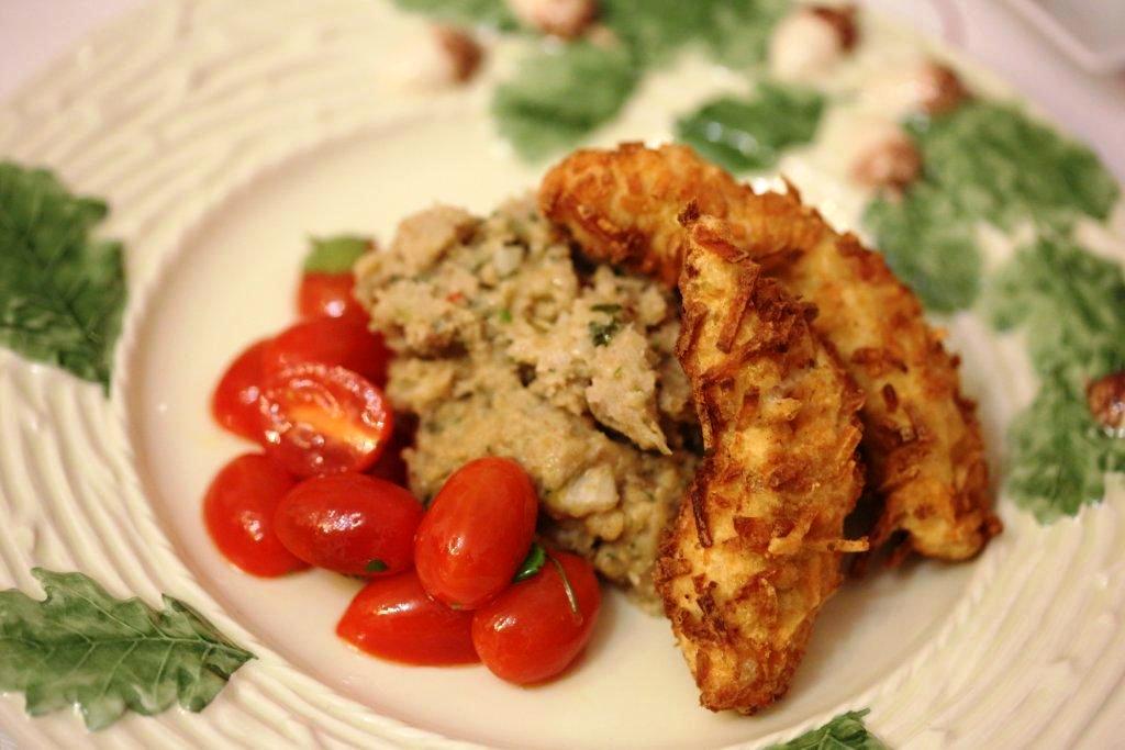 Panados de frango e batata panados de frango e batata - Panados de frango e batata