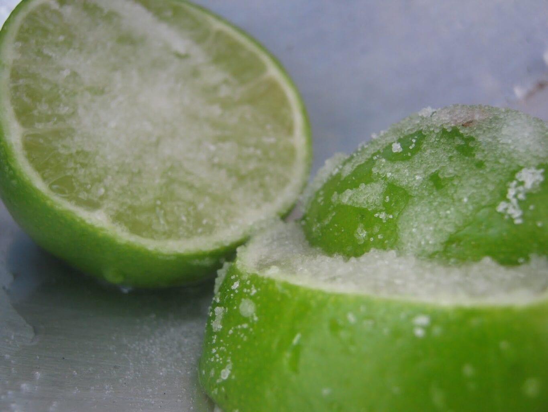 Limão congelado