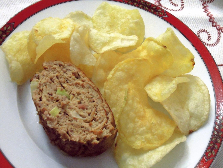 Omeleta de carne do cozido