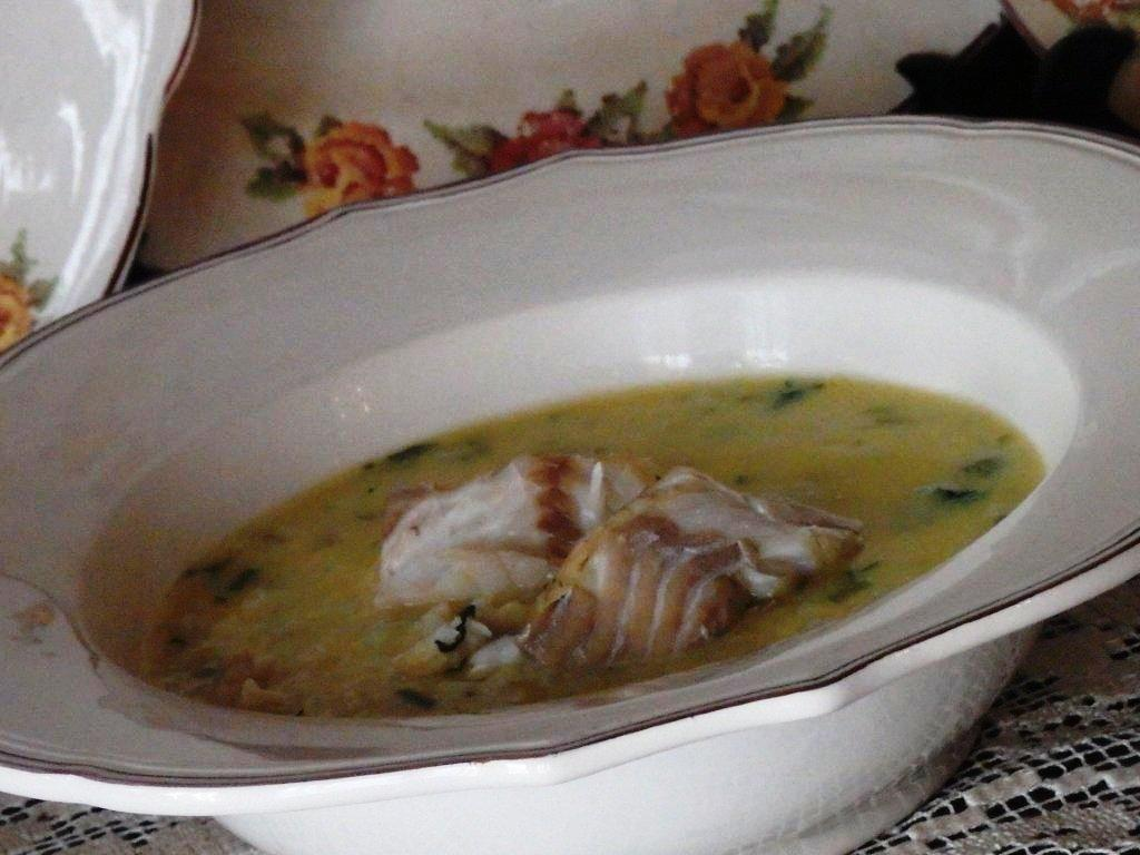 arroz cremoso Arroz cremoso de pescada para a sexta feira santa P4130170