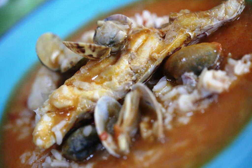 arroz de pargo Arroz de Pargo na Ericeira de comer e chorar por mais Grafe e Faca Arroz de Pargo