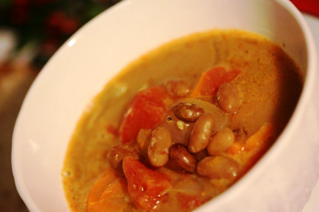 creme de feijão manteiga Creme de feijão manteiga com tomate e cenoura Grafe e Faca Creme de feijao manteiga1