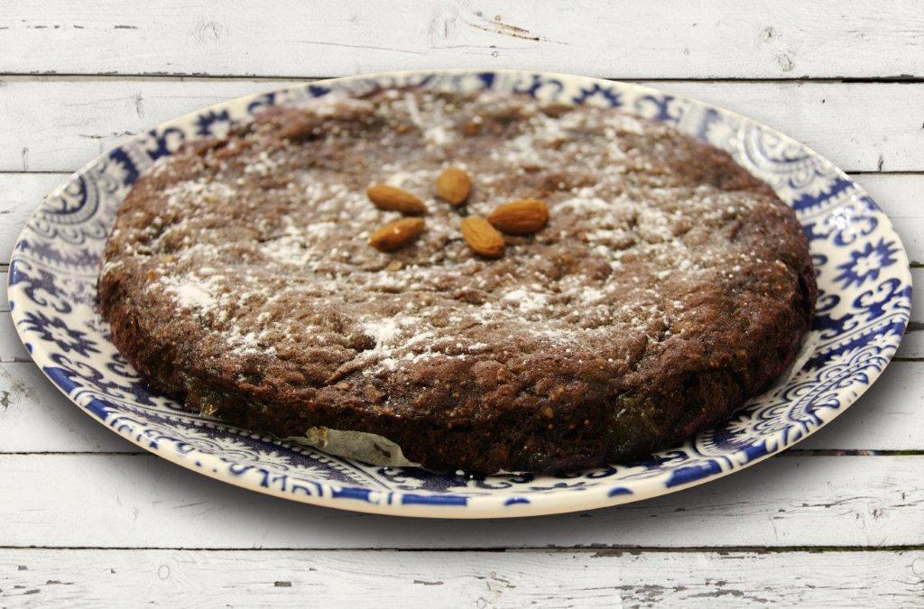 tarte de alfarroba Tarte de Alfarroba da Manuela Caldeira Grafe e Faca Tarte de Alfarroba