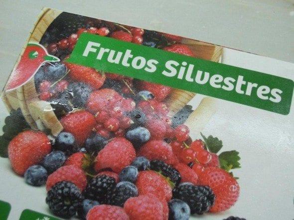 Sopa de Frutos Vermelhos
