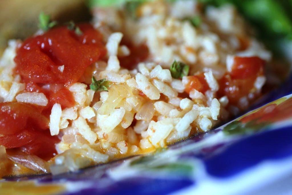 Arroz de tomate com lima (4 pessoas)