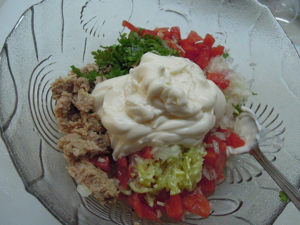 Patê de atum com tomate patê de atum com tomate Patê de atum com tomate Grafe e Faca Pate de atum com tomate4