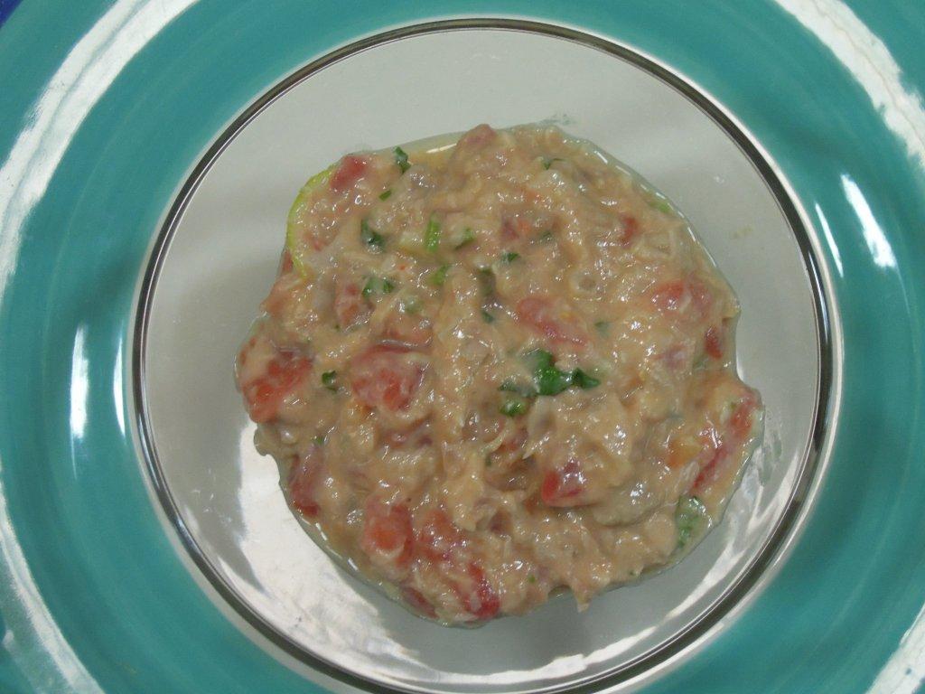 Grafe e Faca Pate de atum com tomate5 patê de atum com tomate Patê de atum com tomate Grafe e Faca Pate de atum com tomate5