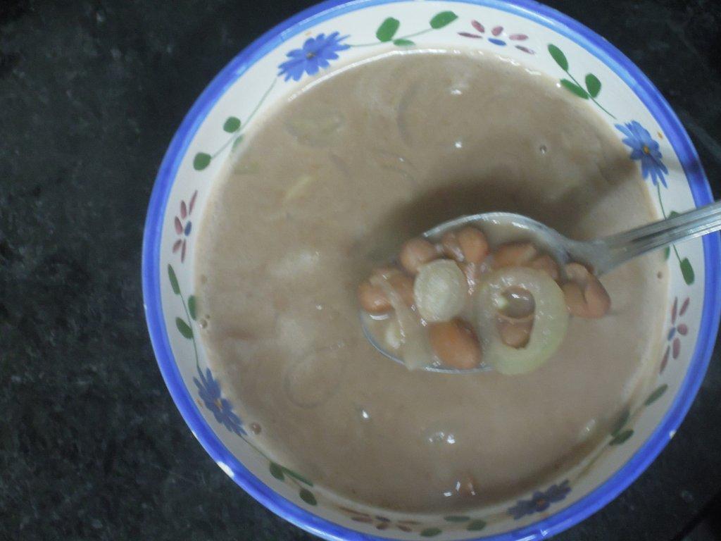 Sopa de Feijão com cebola (2) sopa de cebola com feijão - Sopa de cebola com feijão