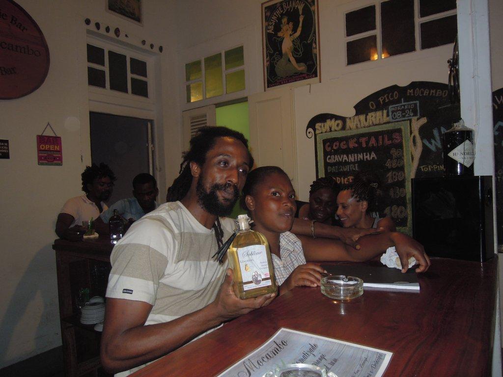 Bar Pico Mocambo em São Tomé
