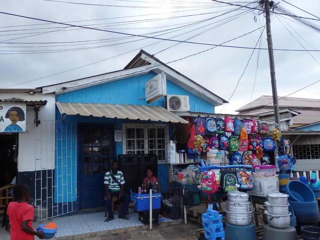 A loja de musica do DJ Cabelo