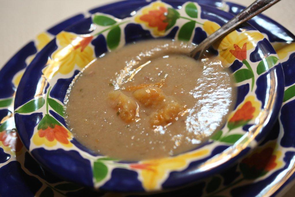 Sopa de feijão encarnado com abóbora e mais!