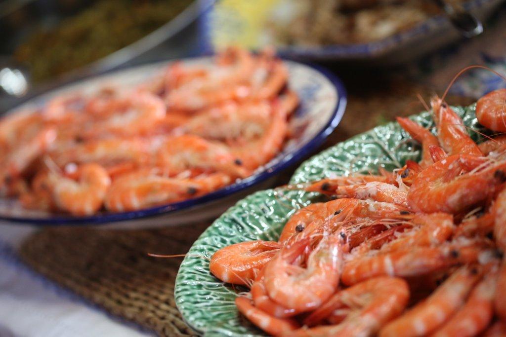 Gambas do Ano Novo ou os camarões da Ilha do Araújo