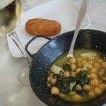Sopa de grão com bacalhau e espinafres sopa de grão com bacalhau e espinafres Sopa grão com bacalhau e espinafres da Taberna del Alabardero em Madrid DSCN0108 150x150