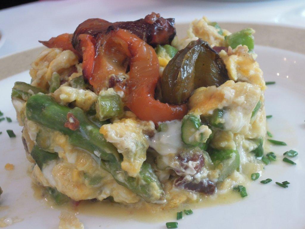Revueltos de Espargos - Restaurante El Figon de Eustaquio em Cáceres