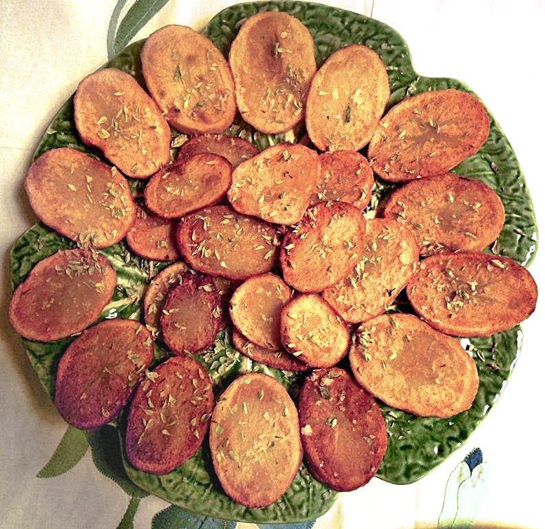 Batatas Fritas com Orégãos