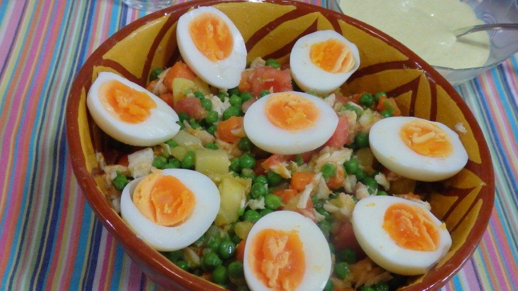 salada russa de goraz (5 pessoas) Salada Russa de Goraz (5 pessoas) 112