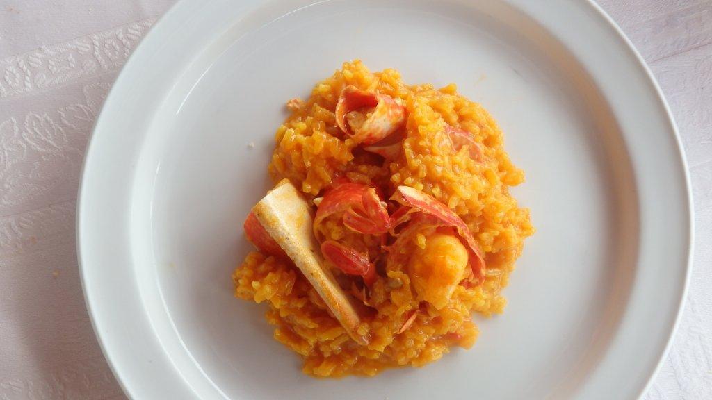 7 arroz de lavagante - Arroz de Lavagante