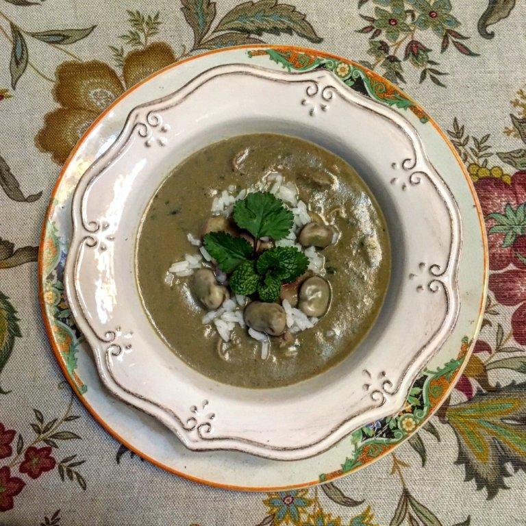 Sopa de Favas com Arroz