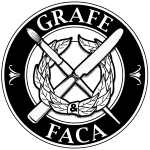 Logotipo Grafe e Faca