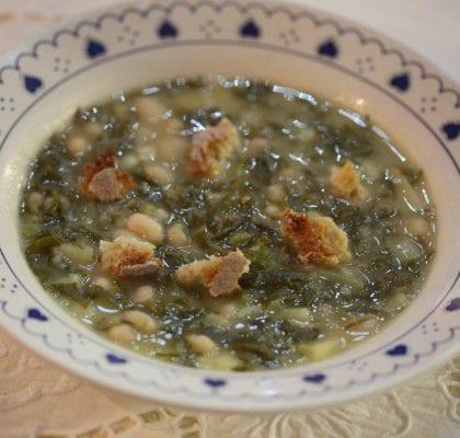 Sopa de Couve e Feijão da Eulália