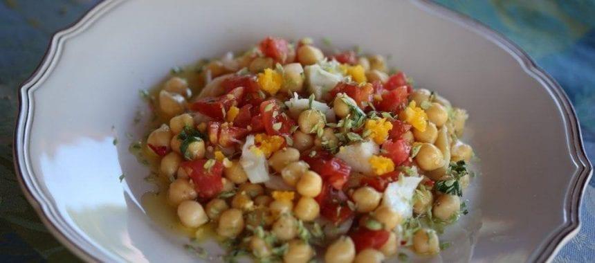 Salada de Verão com Grão