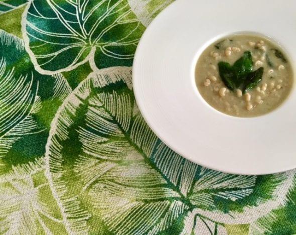 Sopa de feijão frade mini