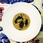 Sopa de feijão frade da Lardosa
