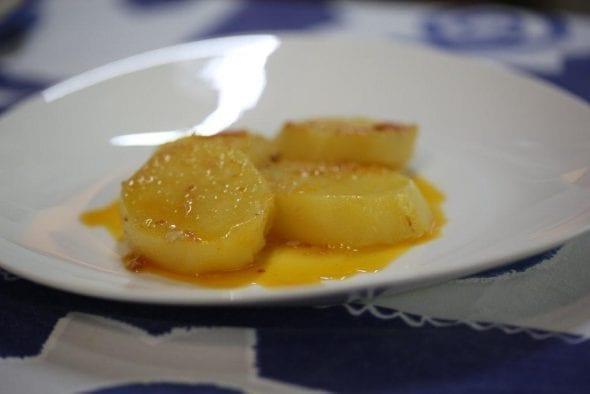 Batatas no molho da Carne à Mercês