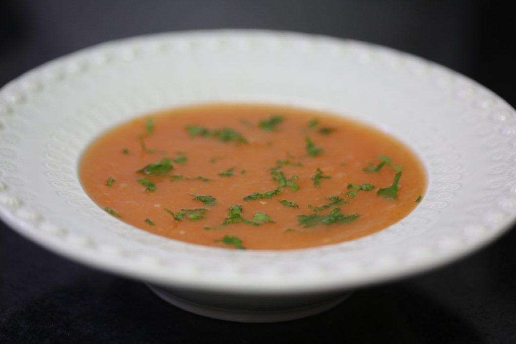 creme de tomate com batata e salsa Creme de tomate com batata e salsa 8E6B0531