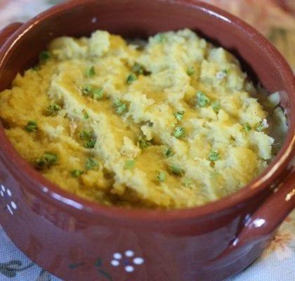 puré de batata doce com manjericão Puré de batata doce com manjericão 8E6B1076 420x400