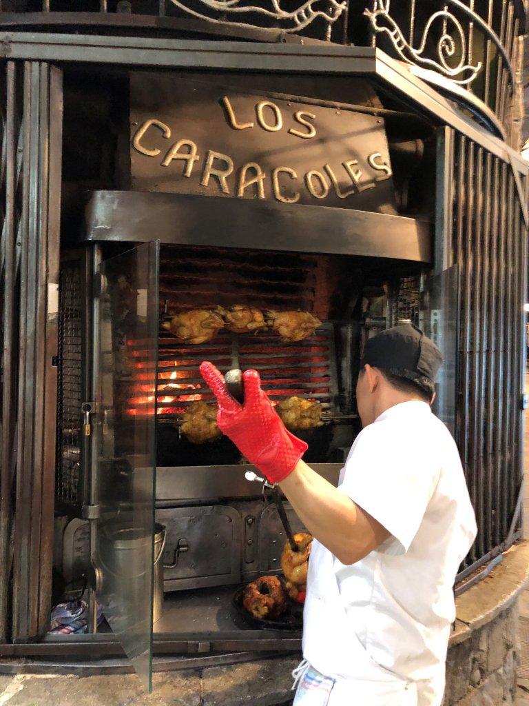 O Los Caracoles em Barcelona e o Zé Moreira