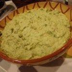 Puré de batata verde