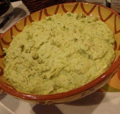 puré de batata verde - Puré de batata verde