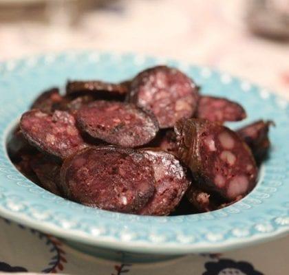 morcela de carne assada no forno - Morcela de Carne Assada no Forno