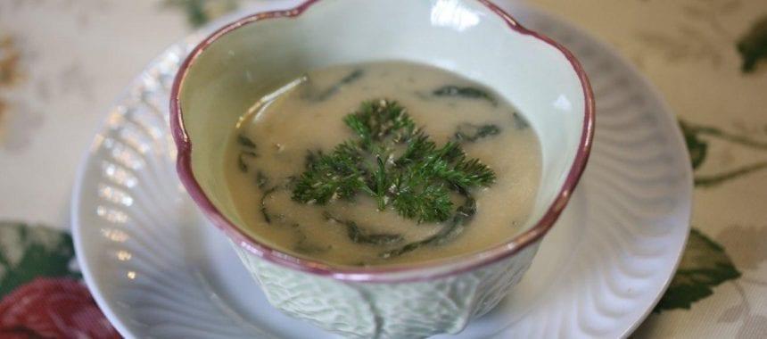 Sopa de Pompostos com Feijão Branco