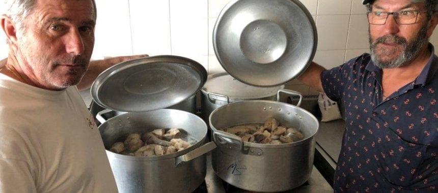 CANEJA D'INFUNDICE um prato típico da Ericeira