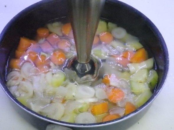 Sopa de Cenoura com Alho Francês2