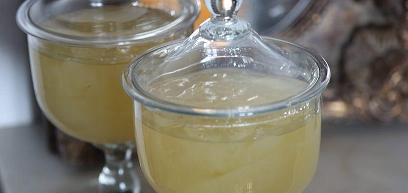 Licor de Limão em Gelatina